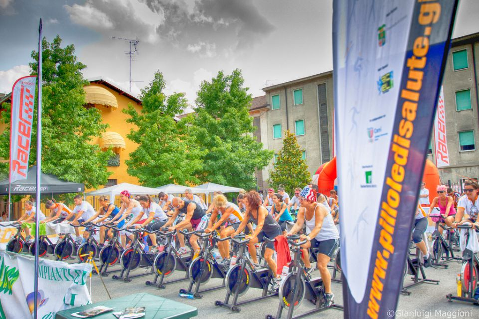 Spinning all'aperto - Sirone 2013